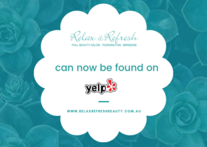Relax & Refresh Beauty Salon is now on Yelp!