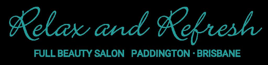 Relax and Refresh Full Beauty Salon Logo